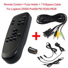 For Logitech Z5500 Speaker Remote Control + PIDs Pre636 Control Pod Bypass Cable
