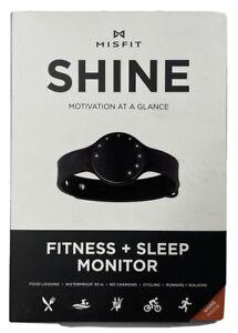 Misfit Shine Fitness And Sleep Monitor Motivation At A Glance Jet Model SHOAZ