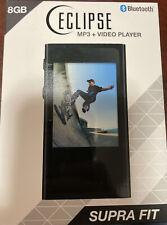 Eclipse Supra Fit (Black) mp3 + Video player W/ bluetooth 8Gb