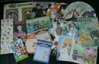 JAPAN Anime & Manga & Game Junk Paper Goods Set (Z)