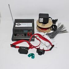 New listing PetSafe Tc-100 In-Ground Dog Radio Fence Containment Transmitter w/ 2 Collars