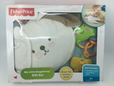 NEW My Little Snugabunny Gift Set ~ Fisher-Price Tummy Time Bunny Rabbit Toy