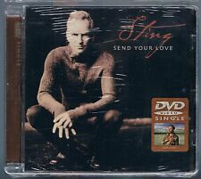 STING (THE POLICE) SEND YOUR LOVE DVD SINGOLO DVDs SINGLE SIGILLATO!!!