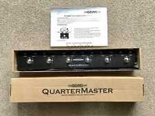 More details for the gig rig quartermaster 6 | thegigrig qmx-6 true-bypass effects pedal switcher