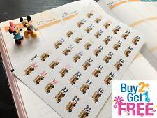 PP477 --  School Field Trip Icons Life Planner Stickers for Erin Condren 36pcs