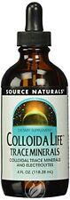 Source Naturals, Colloida Life Trace Minerals, 4 fl. oz. (118.28 ml)