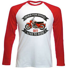 HONDA CB 72-NUOVO Amazing Graphic T-Shirt S-M-L-XL - XXL