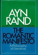 THE ROMANTIC MANIFESTO Ayn Rand 1969 1ST PRINTING HB w/dj