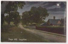 Traps Hill Loughton, Essex Moonlight Postcard, B669