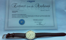 MINT LONGINES calatrava 1952 vintage oversize 37,5mm no chronograph omega watch