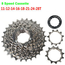 Road 8 Speed 11T-28T Bike Cassette Bicycle Cards Cycling Freewheel New