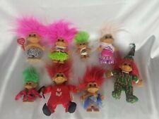 Russ Original Troll Dolls  Lot Of 8