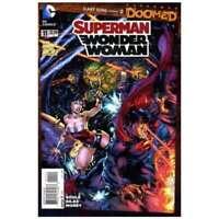Superman/Wonder Woman #11 in Near Mint condition. DC comics [*2v]