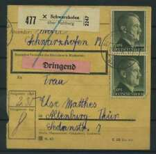 Paketkarte 1943 SCHWARZENHOFEN siehe Beschreibung (117545)