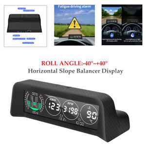 1PC Car Vehicle Head-up Display HUD Horizontal Slope Balancer Display Universal