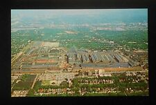 1950s Aerial View of Allis-Chalmers Mfg. Co. Farm Tractors etc. West Allis WI PC