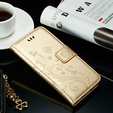 Luxury Flip Leather Wallet Card Magnetic Case Cover For iPhone & Samsung Galaxy