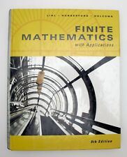 Finite Mathematics and Calculus with Applications (1998, Hardcover) 9th edition