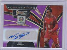 *Printing Error* Panini Select Soccer Nani Auto /75 Portugal