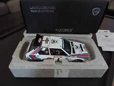 LANCIA DELTA S4 MARTINI TOUR DE CORSE 1986 AUTOART SIGNATURE 1/18 rallye