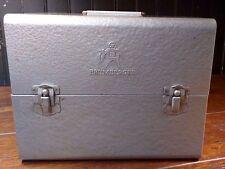 Vintage Brumberger Film Metal Storage Box with 5 Storage Reels Darkroom Safe