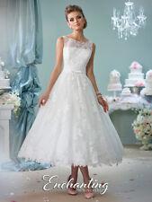 ENCHANTING Ivory  wedding dress  size  10  100% ORIGINAL