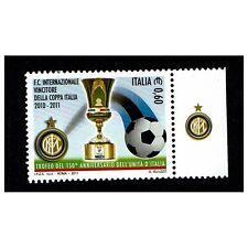 REP0378 - 2011 Inter Coppa Italia con appendice MNH/**