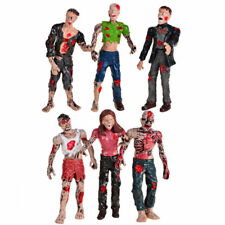 NEW Set 6Pcs Walking DEAD Corpses Movie Characters Action Zombie Figures Kid Toy