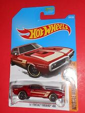 HOT WHEELS '67 PONTIAC FIREBIRD 400  MUSCLE MANIA 284/365