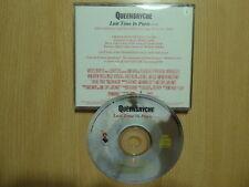 Queensrÿche  –  Last Time In Paris ( promo cd singel )
