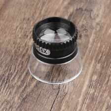 15X Acrylic Eye Magnifier Jewelry Repair Tool Monocular Magnifying Glass Lens