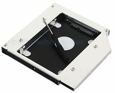 2nd HDD SSD Hard drive Caddy Adattatore per 12.7mm SATA unità ottica bay DVD