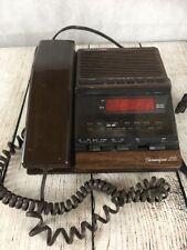 Radio Shack Clock Radio Alarm & Phone Chronofone 255 Vintage Model 12-1562