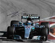 Autographed Mercedes driver Valtteri Bottas signed 8x10 3 Photo Formula 1