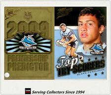 2009 NRL Classic Predictor + Top Tryscorer Card TT4 Blake Ferguson (Sharks)