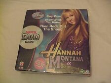 New and Sealed Disney's Hannah Montana DVD Board Game by Mattel 2007