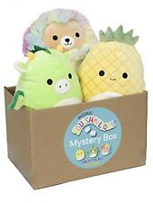 """Squishmallow Official Kellytoy Plush 8"""" Plush Mixed 8"""" Three Pack"""