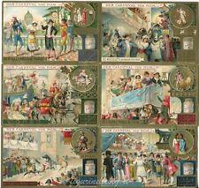 Chromo Liebig Sang. 506 TED Carnevale di Roma ANNO 1897