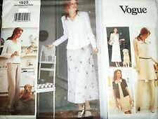 Miss MP Vogue 2218 Sewing Pattern Dress Tunic Top Pants UNCUT Size 14-16-18 OOP