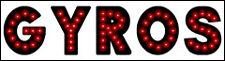 """NEW Generation GYROS open LED neon SIGN LED 19gyro""""X 5"""""""
