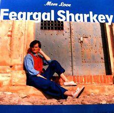 "12"" - FEARGAL SHARKEY - MORE LOVE (POP) SPANISH EDIT.1988, NEW, NUEVO"