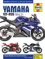 Haynes Manual 5543 Yamaha YZF-R125 YZFR125 YZF125 2008-2011 NEW