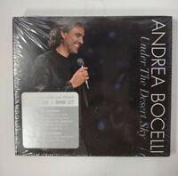Under the Desert Sky by Andrea Bocelli (New 2006 Decca/Universal CD + DVD)