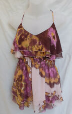 Cooper St Size 10 S Top Layered Chiffon As New Casual Party Evening Occasion