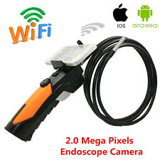 HD WIFI Endoscope Video Inspection Snake Camera 8.5mm Borescope For Android IOS