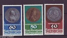 Liechtenstein Nr.   710-12  **  Münzen