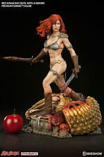 Sideshow Red Sonja She-Devil with Sword Premium Format Figure Statue In Stock