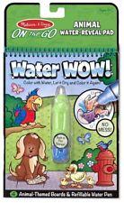Melissa & Doug WATER WOW! - ANIMALS Creative Toys Activities Games BNIP