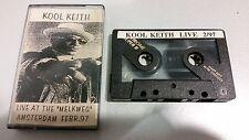 "KOOL KEITH - Live At The ""Melkweg"" Amsterdam Febr. 97  (Tape)"