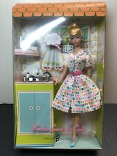 "12"" Mattel Barbie Doll Repro ""Barbie Learns To Cook"" Ponytail Blonde MINT NRFB"